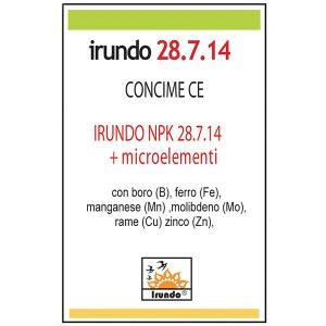 IRUDO NPK (N) 28. 7. 14 + M