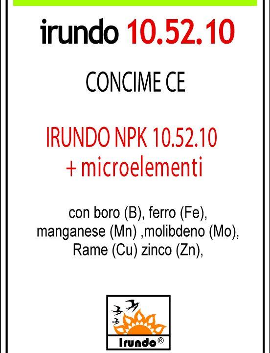 Irundo 10.52.10 + 1 + Microelementi