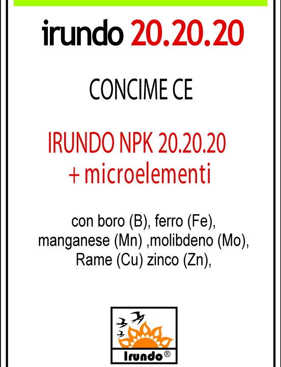 Irundo 20.20.20 + Microelementi
